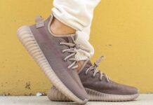 adidas Yeezy Boost 350 V2 Mono Mist On-Feet
