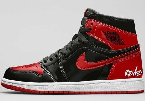 Air Jordan 1 Bred Patent Leather Release Date