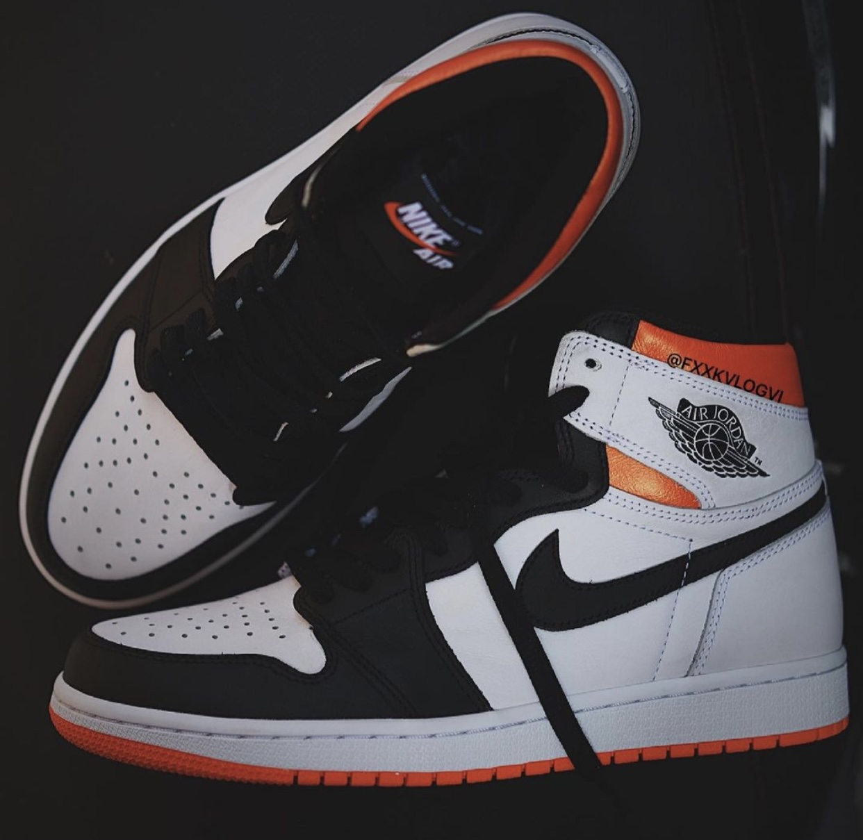 Air Jordan 1 Electro Orange 555088-180 Release Info Price