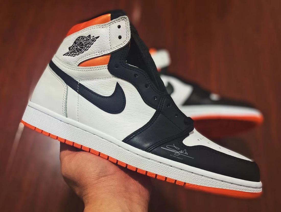 Air Jordan 1 Electro Orange 555088-180