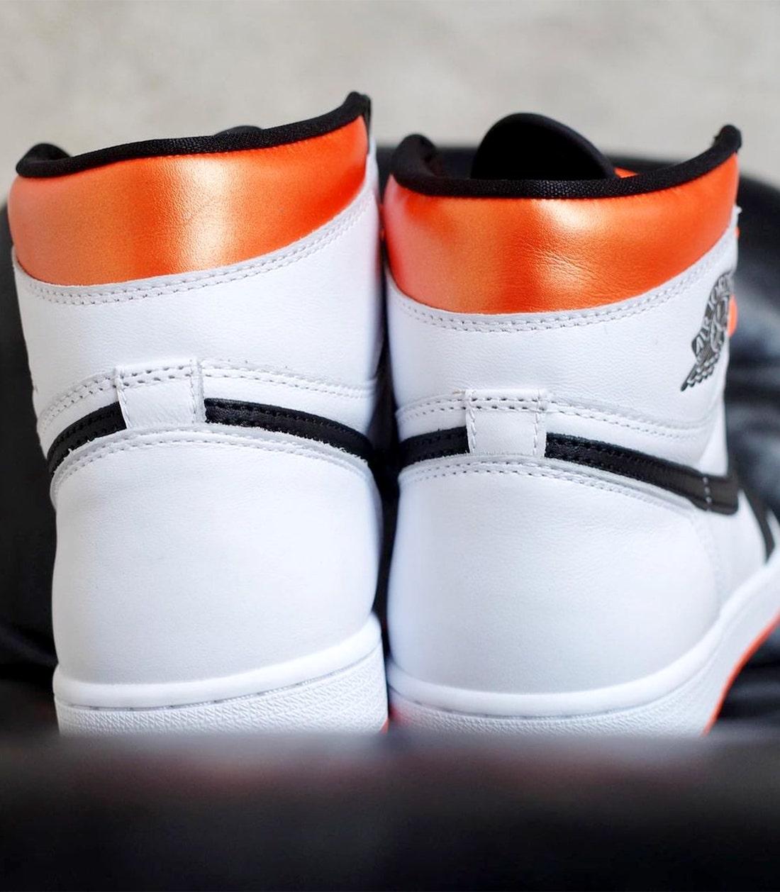 Air Jordan 1 Electro Orange Release 555088-180