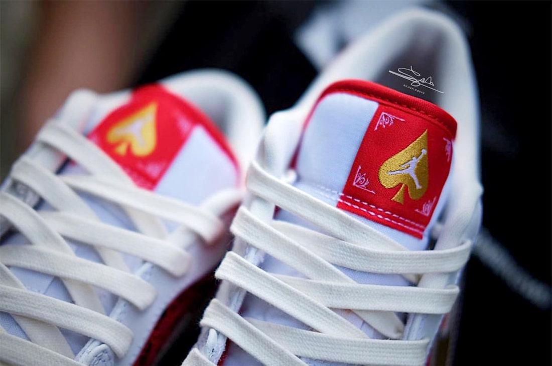 Air Jordan 1 Low Spades Kings Queens DJ5185-100 Release Date