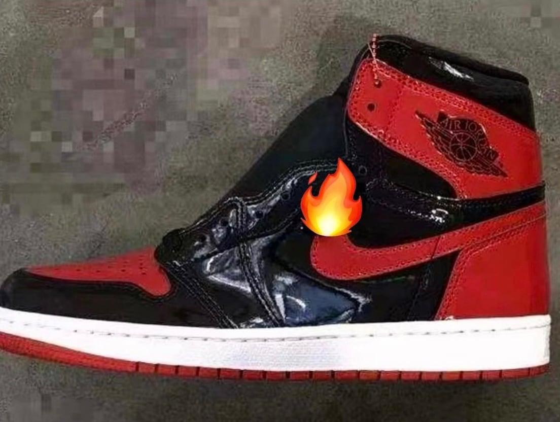Air Jordan 1 Reimagined Bred Patent 555088-063 Release Info