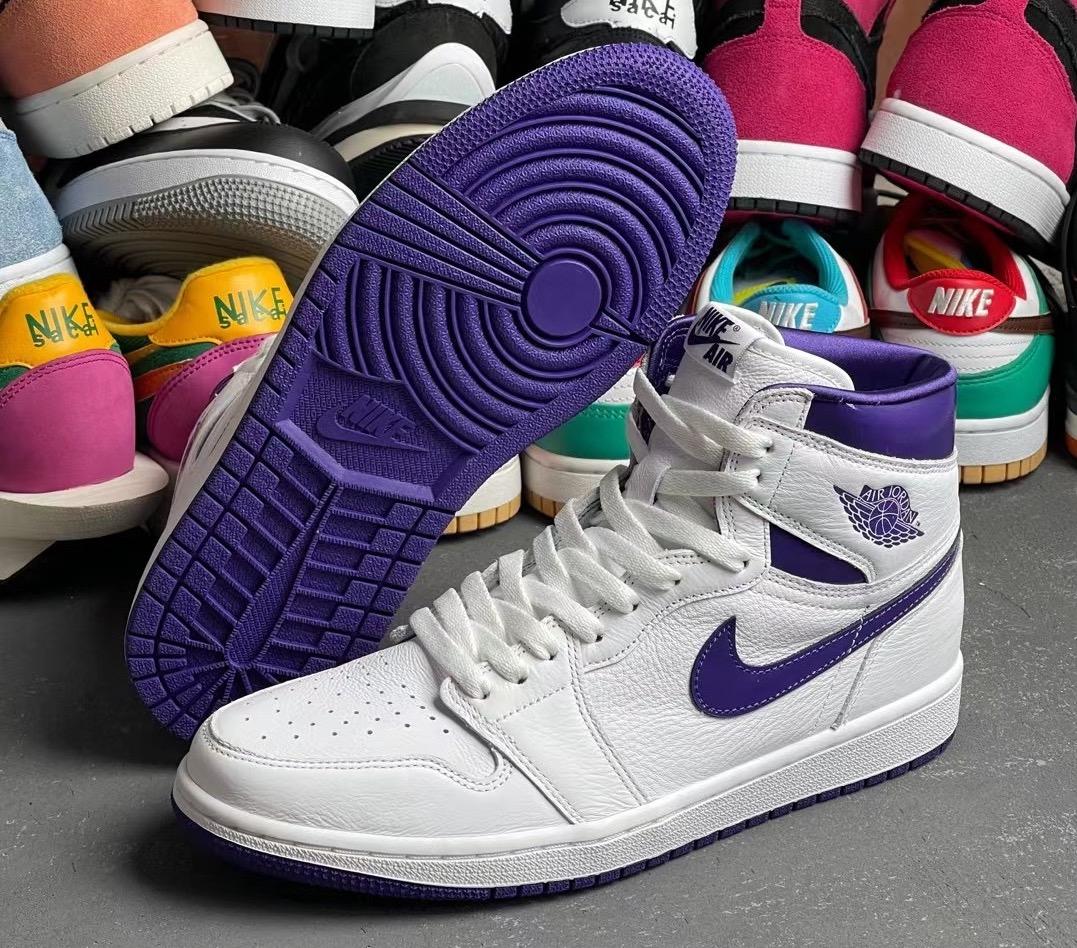 Air Jordan 1 WMNS Court Purple CD0461-151 Release Info