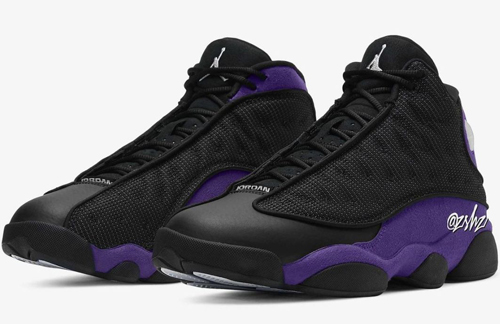 Air Jordan 13 Court Purple Release Date