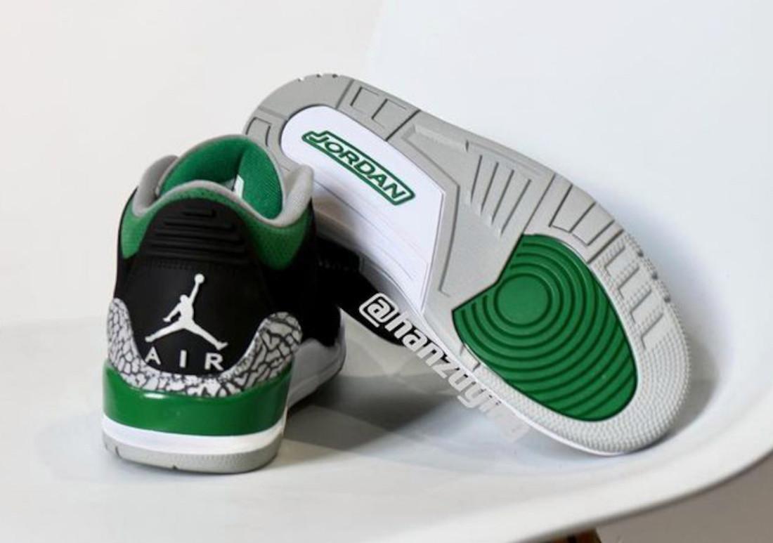 Air Jordan 3 Pine Green 2021 CT8532-030 Release Date