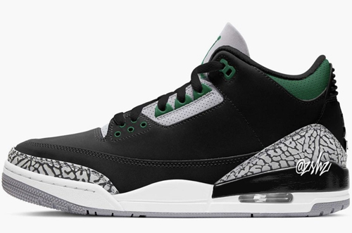 Air Jordan 3 Pine Green Release Date
