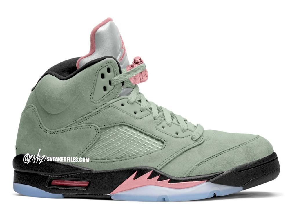 Air Jordan 5 Jade Horizon Pink Glaze DC7501-300 Release Date Info