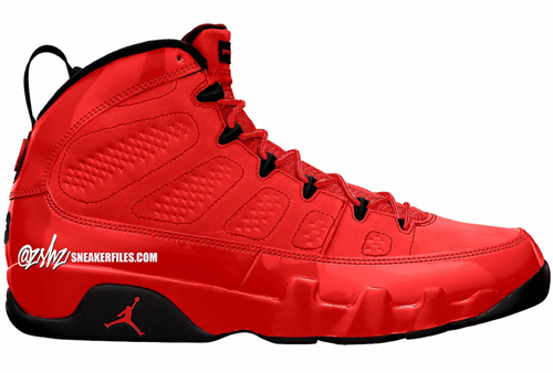 Air Jordan 9 Chile Red Release Date