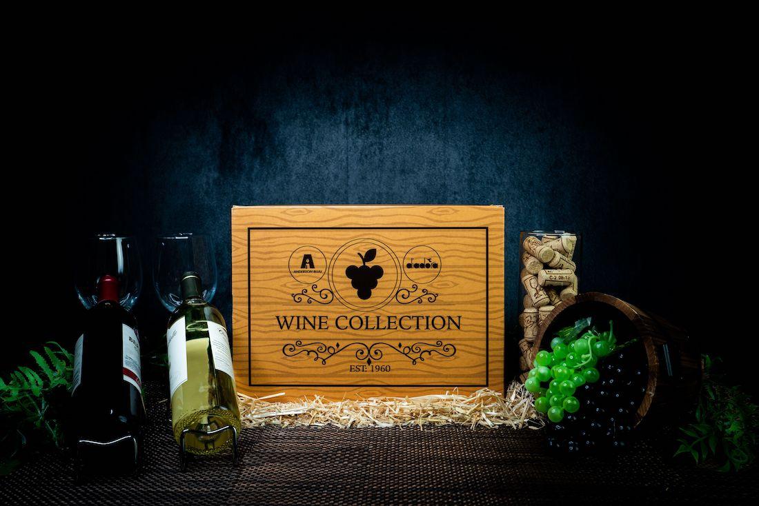 Anderson Bluu Diadora Wine Collection