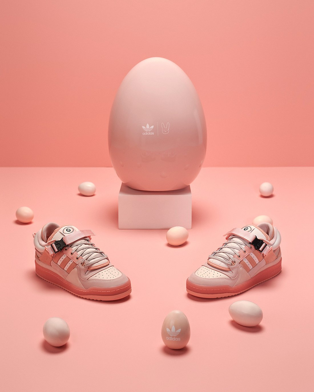 Bad Bunny adidas Forum Buckle Low Easter Egg GW0265 Release Date