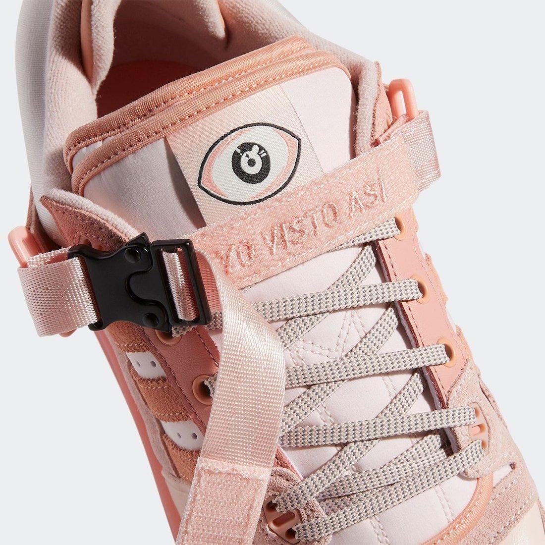 Bad Bunny adidas Forum Buckle Low GW0265 Release Date Info