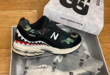 Bape New Balance 2002R Green