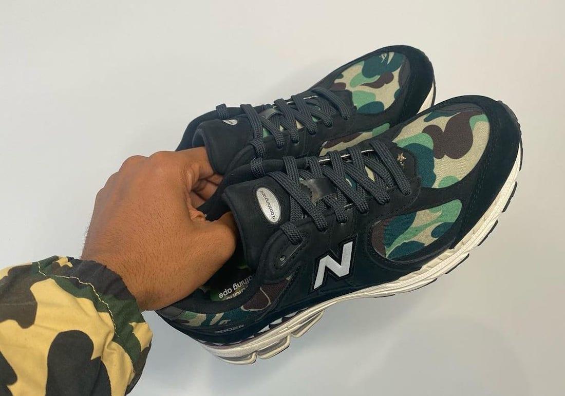 Bape New Balance 2002R Green Release Date