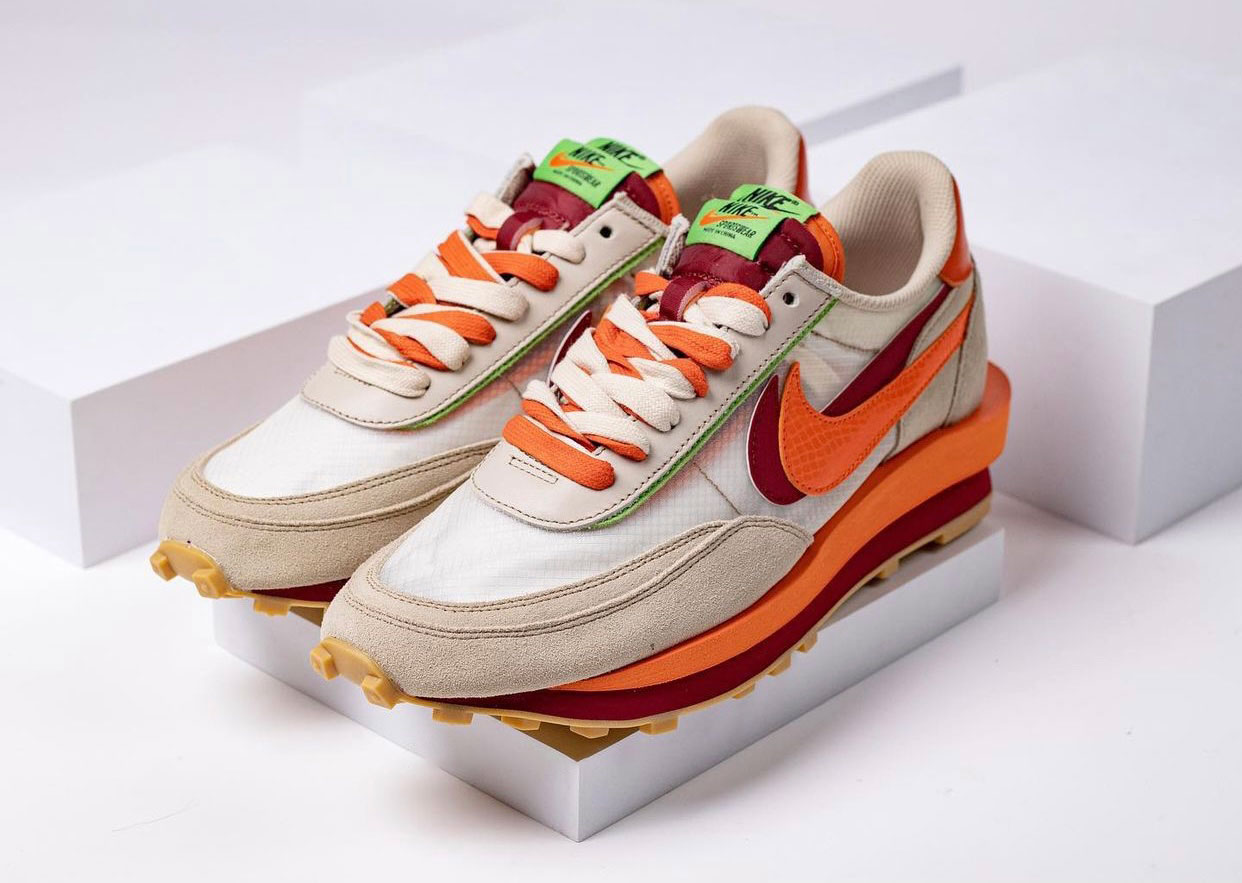 Clot Sacai Nike LDWaffle DH1347-100 Release Date