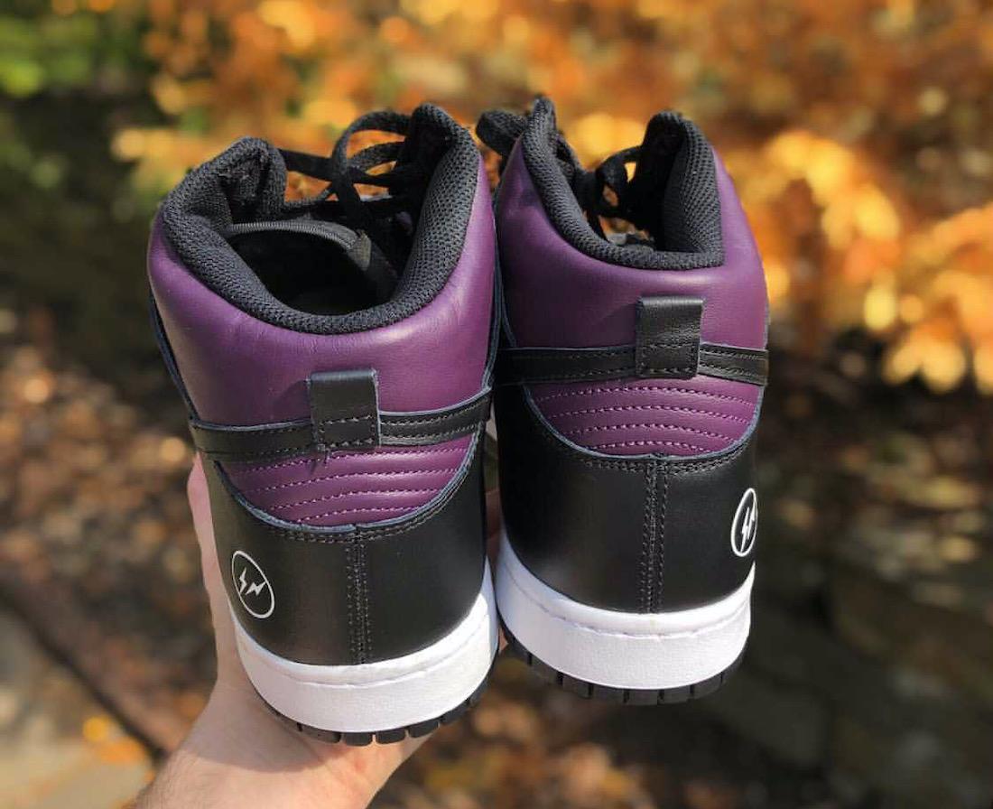 Fragment Nike Dunk High Beijing 2021 Release Info
