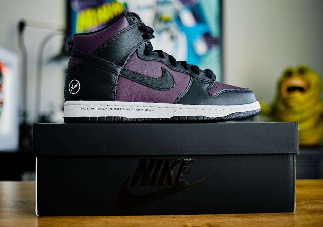 Fragment Nike Dunk High Beijing DJ0382-600