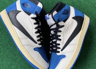 Fragment Travis Scott Air Jordan 1
