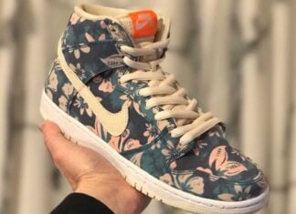 Hawaii Nike SB Dunk High CZ2232-300