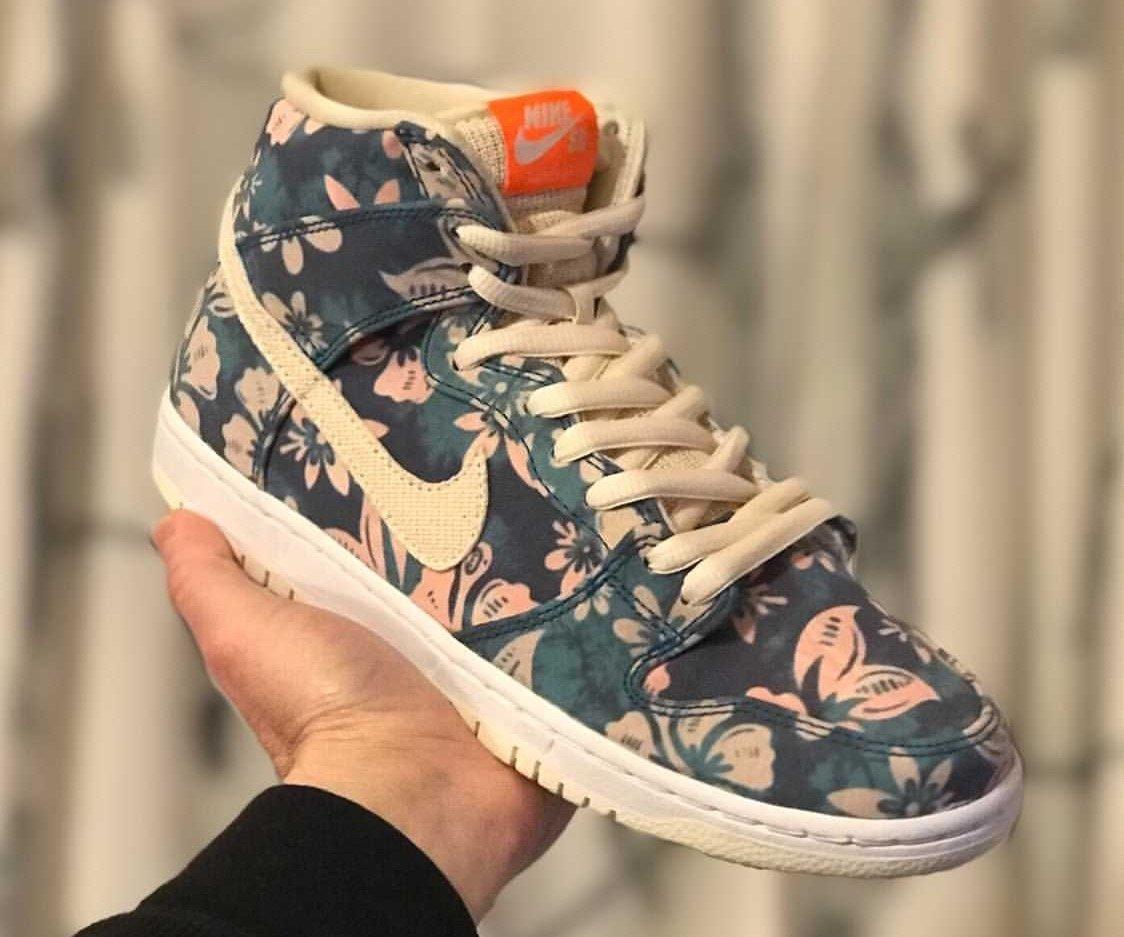 Hawaii Nike SB Dunk High CZ2232-300 Release Date