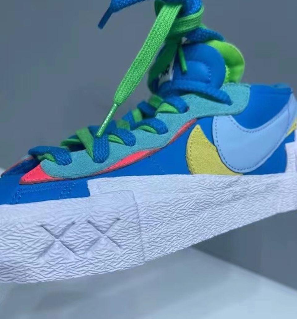 Kaws Sacai Nike Blazer Low DM7901-400 Release Date