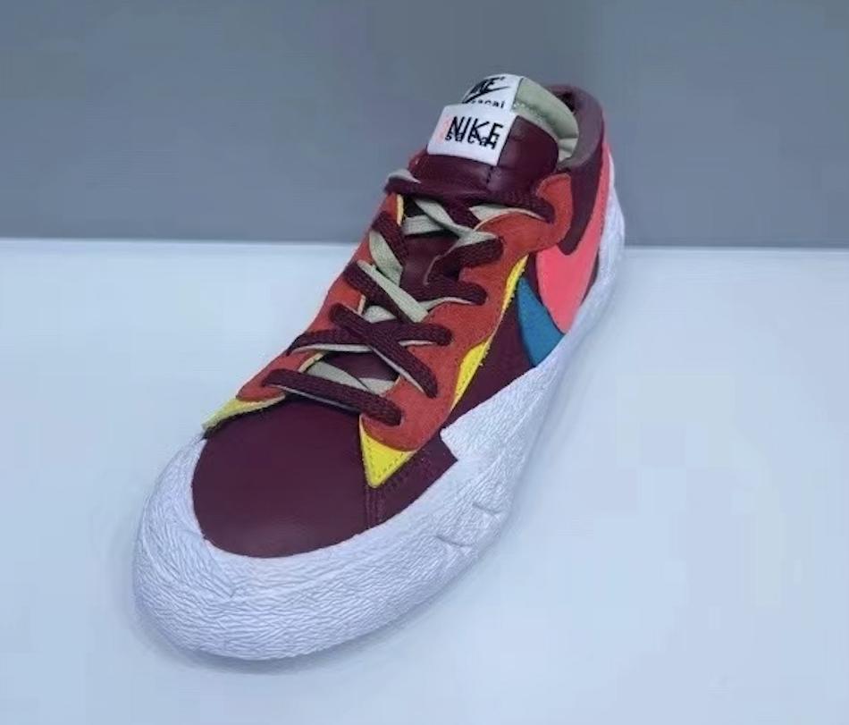 Kaws Sacai Nike Blazer Low DM7901-600 Release Date