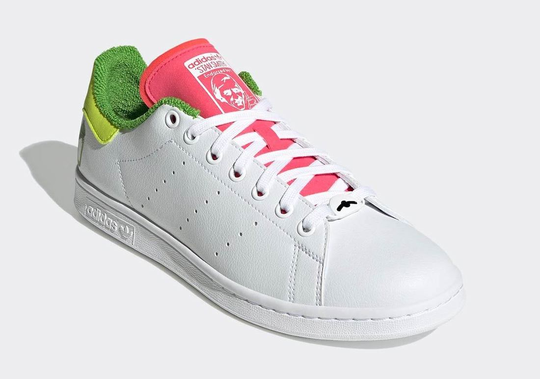 Kermit the Frog adidas Stan Smith GZ3098 Release Date Info