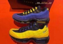 LeBron James Nike Air Max 95 Lakers CZ3624-001