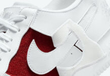 Nike Air Force 1/1 White Red DC9895-100