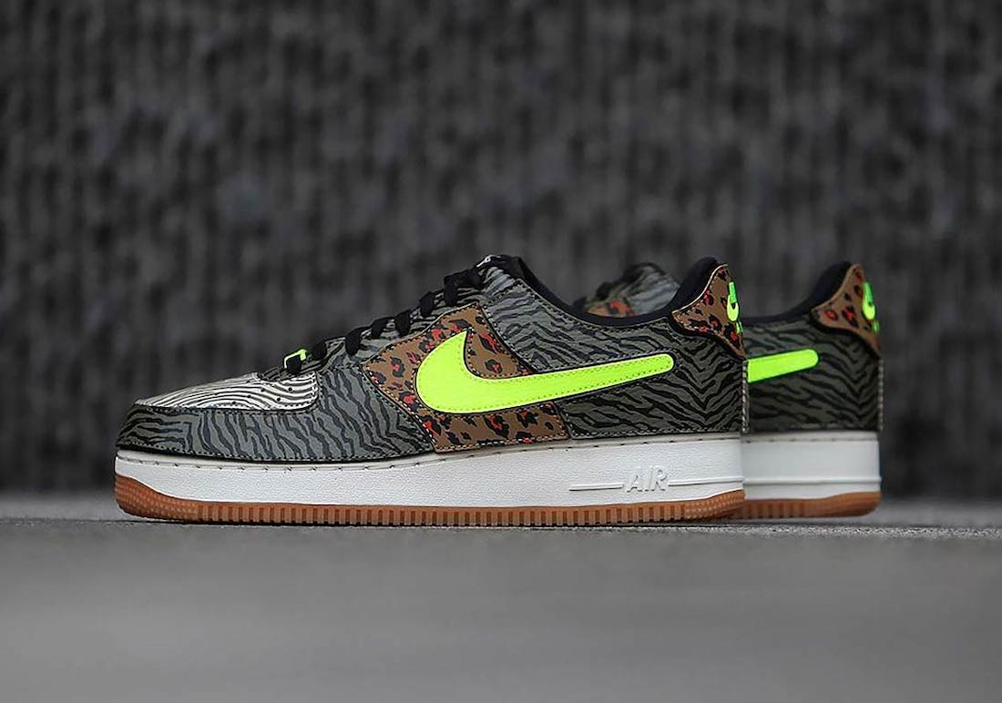 Nike Air Force 1/1 Animal Print DM5329-200 Release Date Info