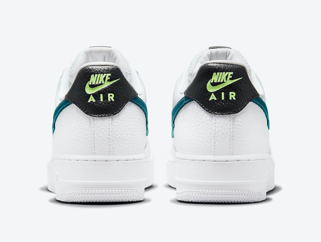 Nike Air Force 1 Low Lightning Bolt Swoosh DJ6894-100 Release Date Info