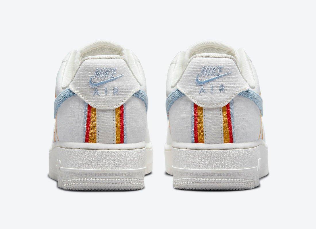 Nike Air Force 1 Low Sail Armory Blue Chili Red DJ4655-133 Release Date Info