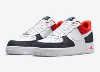 Nike Air Force 1 Low USA Denim DJ5174-100 Release Date Info