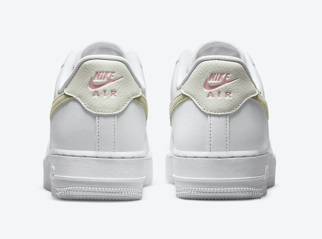 Nike Air Force 1 Low White Olive Pink DM2876-100 Release Date Info