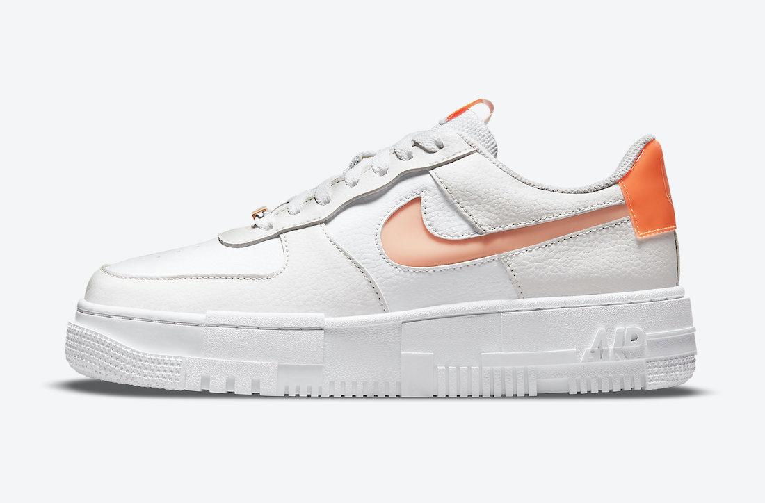 Nike Air Force 1 Pixel White Peach DM3036-100 Release Date Info