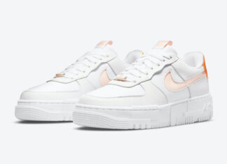 Nike Air Force 1 Pixel White Peach DM3036-100 Release Date Info