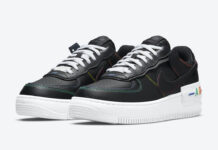 Nike Air Force 1 Shadow Multi Stitch DJ5998-001 Release Date Info