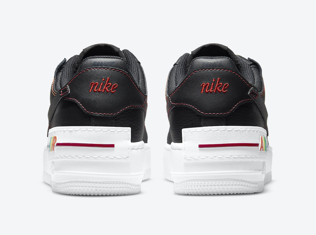 Nike Air Force 1 Shadow Multi Stitch DJ5998-001 Release Date Info