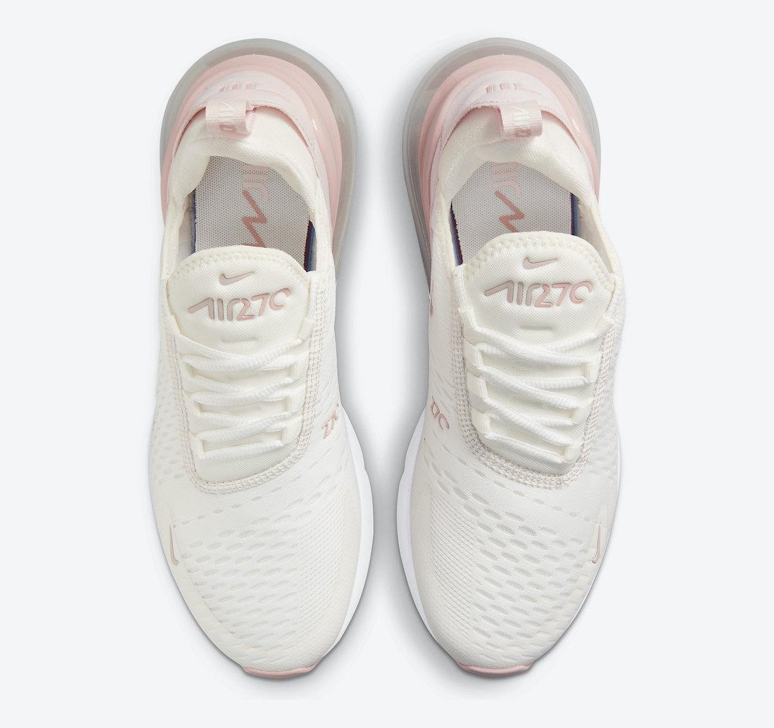 Nike Air Max 270 Sail Pink Beige DM3053-100 Release Date Info