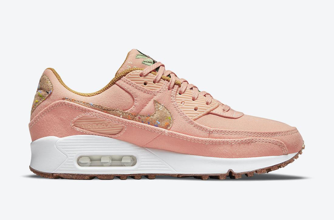 Nike Air Max 90 Cork Pink DD0384-800 Release Date Info