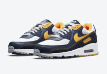 Nike Air Max 90 Michigan DC9845-101 Release Date Info