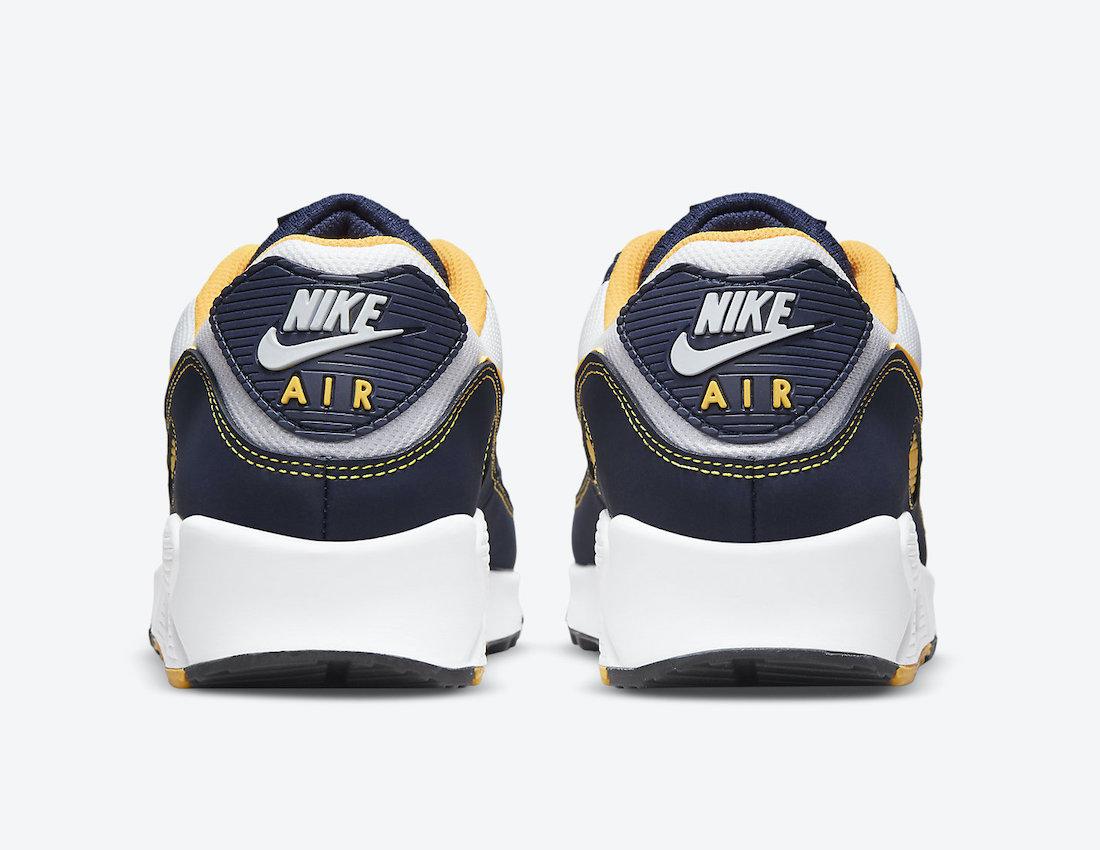 Nike Air Max 90 Michigan DC9845-101 Release Date Info
