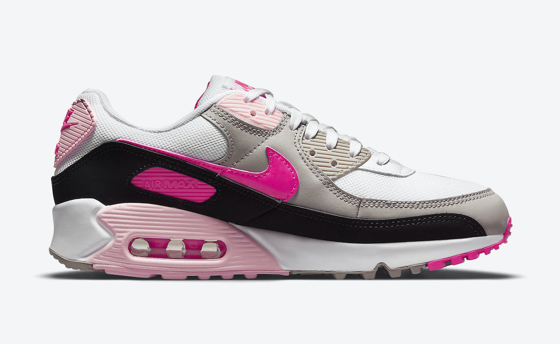Nike Air Max 90 Pink DM3051-100 Release Date Info