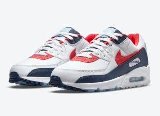 Nike Air Max 90 USA Denim DJ5170-100 Release Date Info