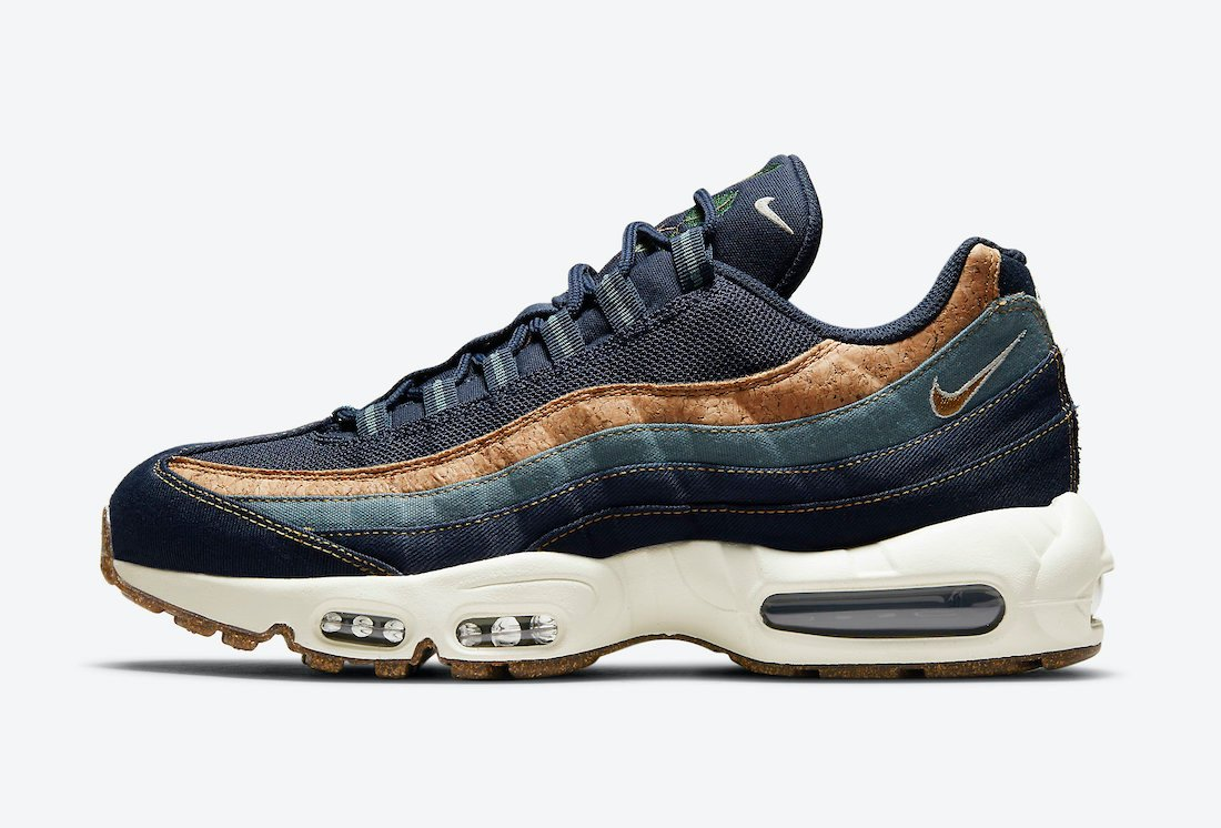 Nike Air Max 95 Cork Obsidian DC3991-400 Release Date Info