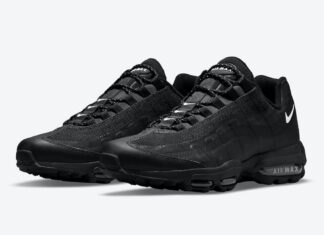 Nike Air Max 95 Ultra Black White DM2815-001 Release Date Info