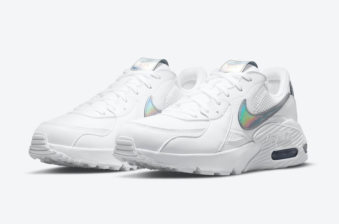 Nike Air Max Excee White Iridescent DJ6001-100 Release Date Info