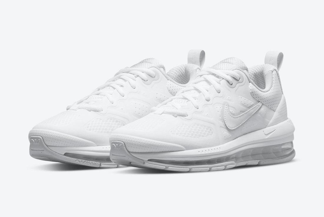 Nike Air Max Genome Triple White CZ1645-100 Release Date Info