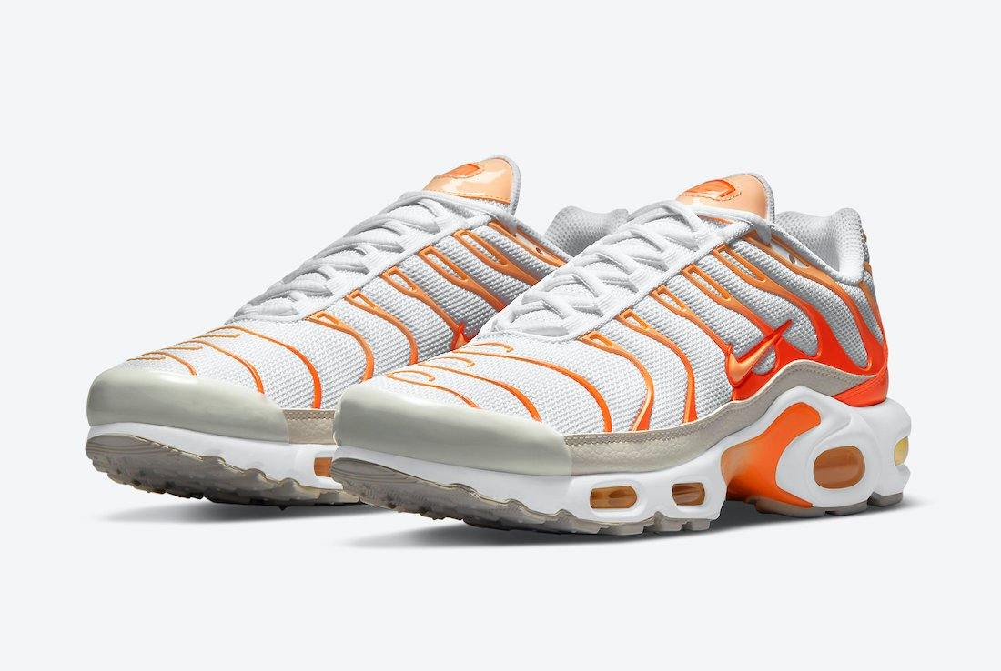 Nike Air Max Plus Releasing in White and Orange