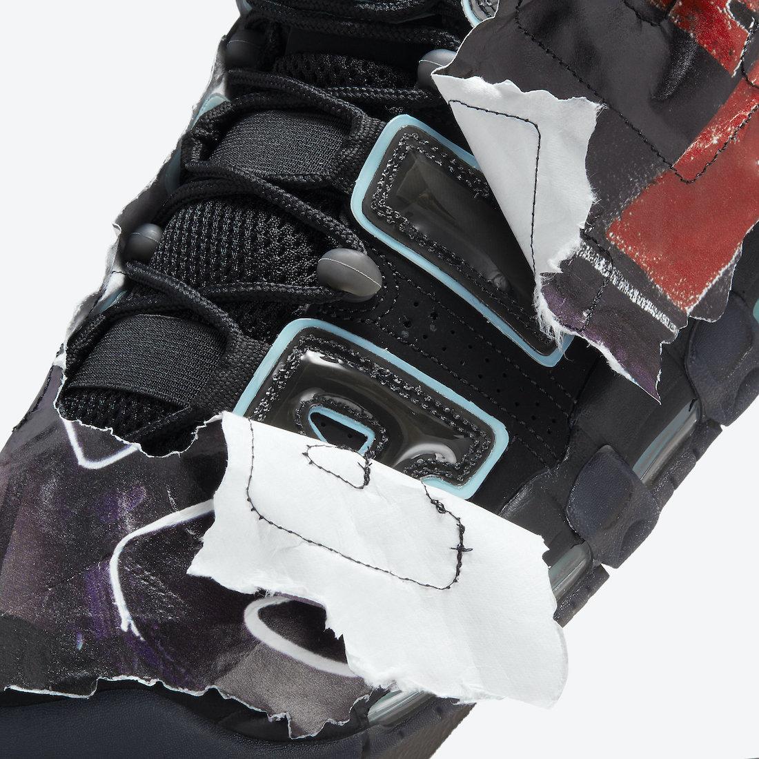 Nike Air More Uptempo Maximum Volume DJ4633-010 Release Date Info